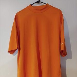 Orange Short Sleeve Nike Shirt Size XL